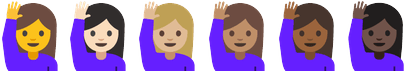 Happy Person Raising One Hand in Android N Dev Preview 2