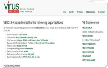 VB100银牌合作伙伴