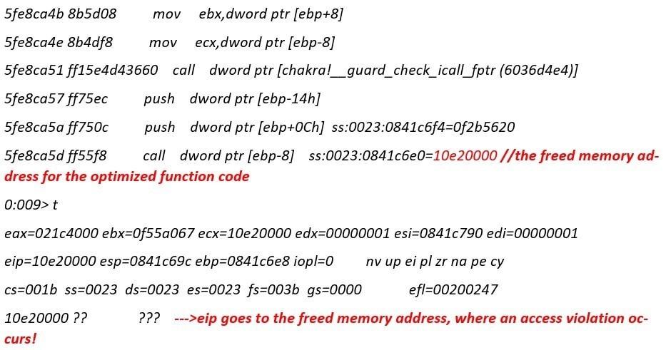 漏洞分析 | 分析微软Edge浏览器Chakra引擎中的UAF漏洞(CVE-2018-0946)-孤独常伴