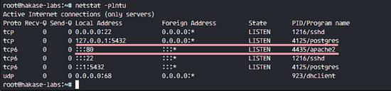 Install Apache and PostgreSQL