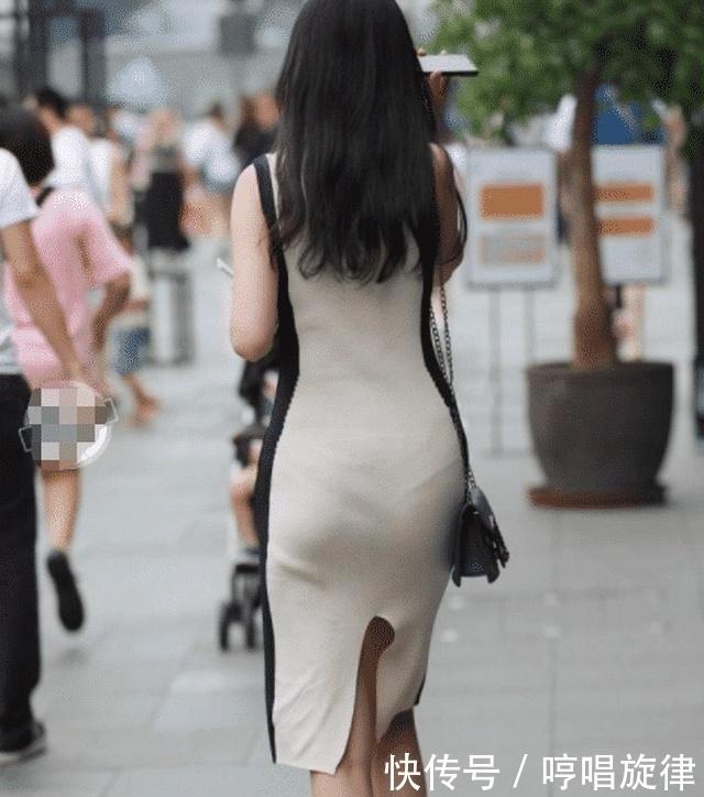 街拍:一条简单的连衣裙,都能穿出属于自己的独特气质!插图(4)