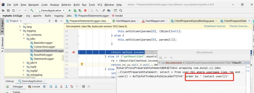 Java安全编码之sql注入