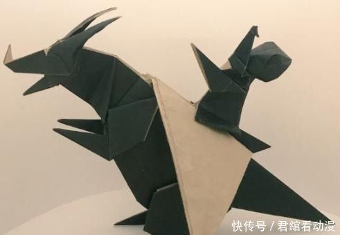 转帖:看到一些好看的折纸,想起小时候看过的漫画《折纸战士》 (4)