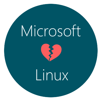 Microsft loven't Linux