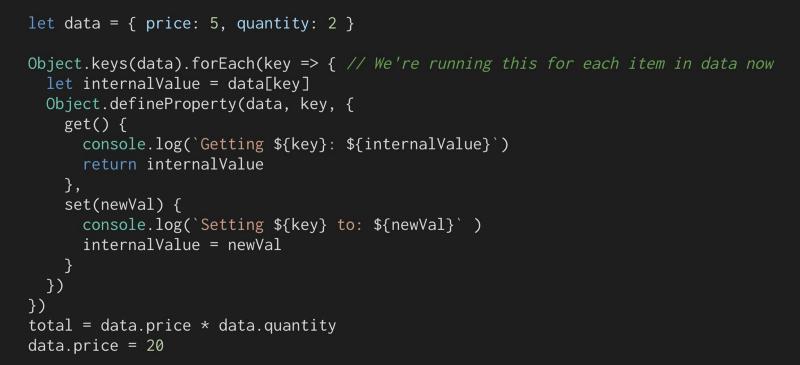 Vue.js是如何做到数据响应的?