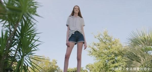 16岁女生有逆天长腿 她可能会打破吉尼斯纪录