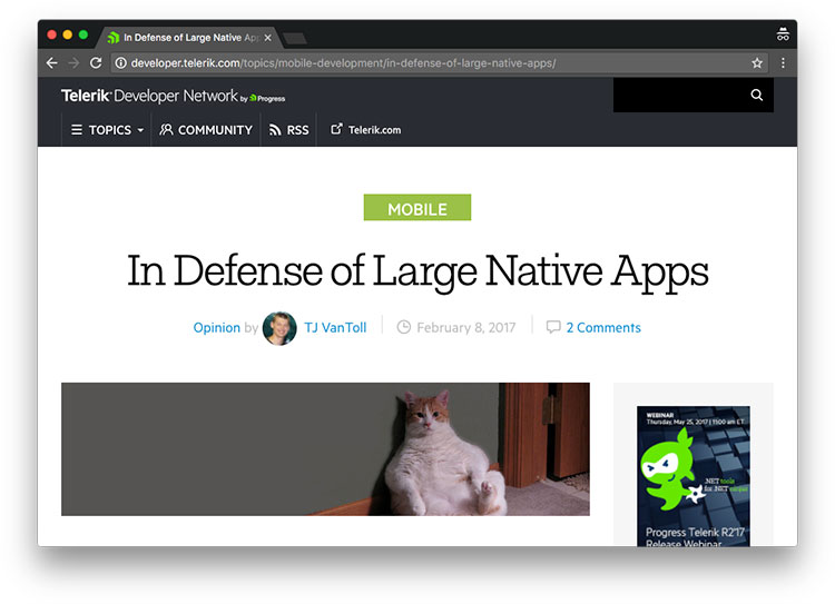 large apps