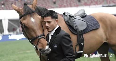 郭富城戴口罩看赛马,10年豪掷百万买三匹马,起名字都与自己有关