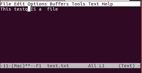 在 emacs 中打開文件