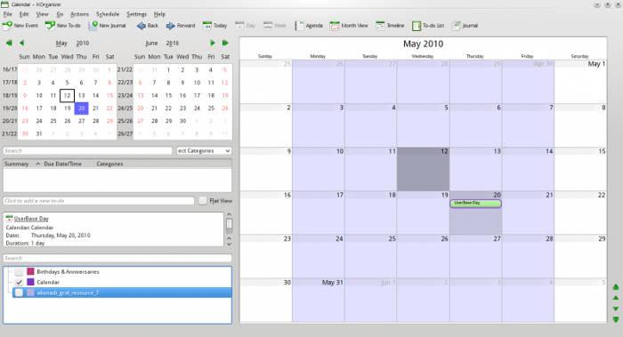 linux-productivity-apps-07-korganizer
