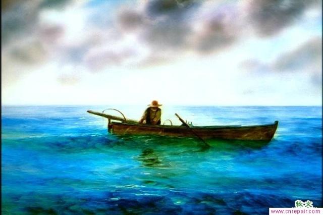 老人与海油画版_老人与海-在线观看-360影视