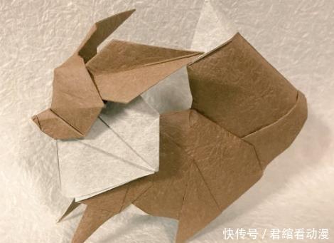 转帖:看到一些好看的折纸,想起小时候看过的漫画《折纸战士》 (2)
