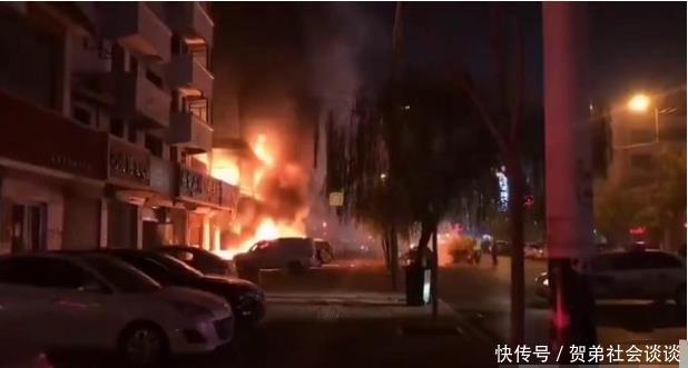 山东省菏泽市人民剧院发生严重火灾