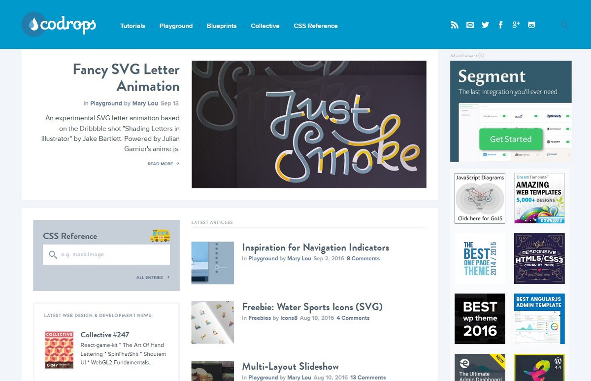 Top Blogs About Web Design And Web Development - 众成翻译