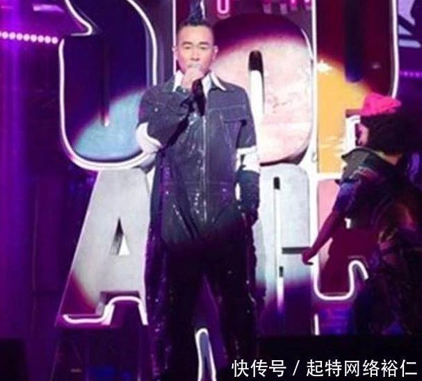 陈小春在台北举办演唱会,现场公布应采儿怀二胎,是男是女不知道