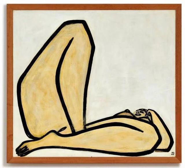 常玉的大曲腿画作拍卖近2亿港元