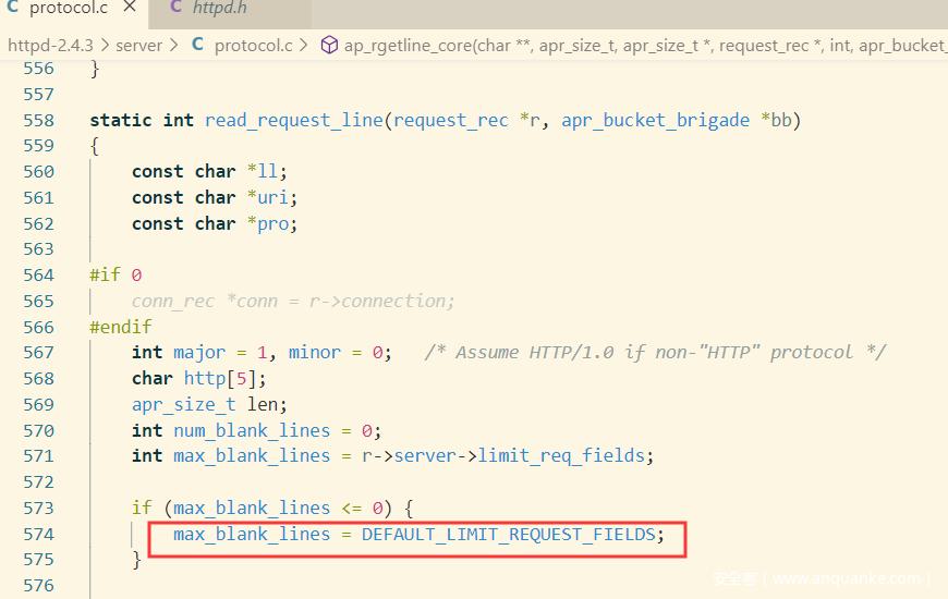 简析Apache如何解析HTTP请求