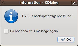 Fig.05: Suppressing the display of a dialog