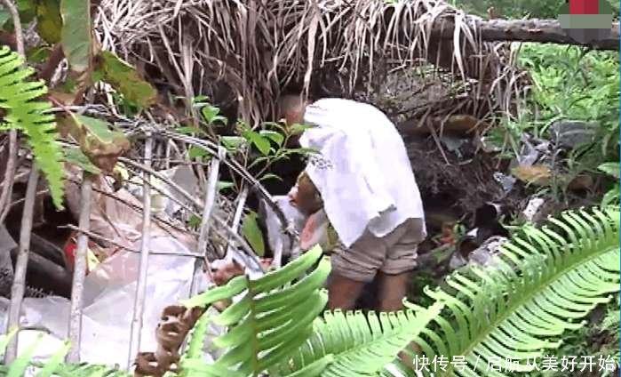 男子隐居洞穴25年 山洞冬暖夏凉 我特别爱干净 很少生病
