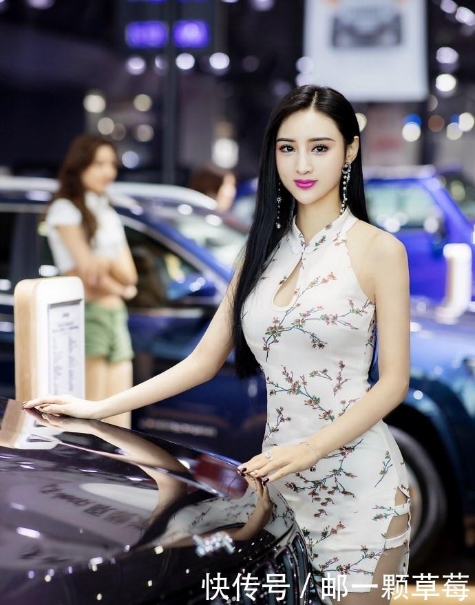 """中国""""第一车模""""吴春怡,究竟有何特别之处? 热点 热图3"""
