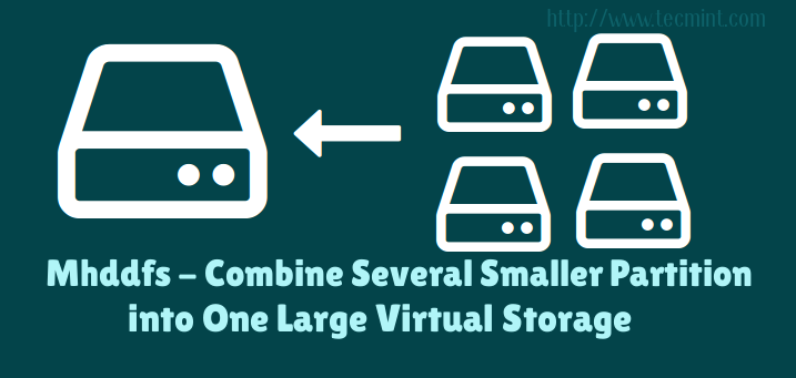 Combine Multiple Partitions in Linux
