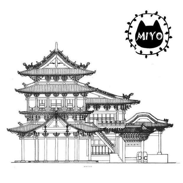 就是古代樣式的房子啊,像清朝住明朝的皇宮人家也沒覺得不妥,不過古風