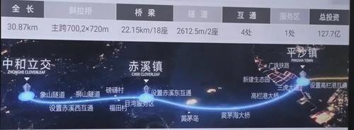 珠海新一�l跨海通道�砹�!建成后不到半小�r就能到江�T!